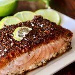 Five-Minute Mexican Blackened Salmon Recipe