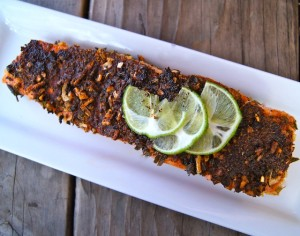 5-Minute Mexican Blackened Salmon Recipe