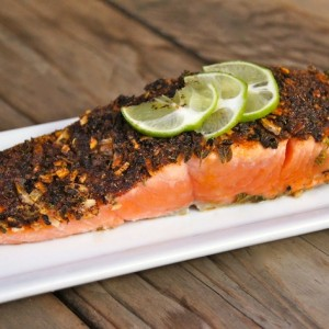 Five-Minute Mexican Blackened Salmon Recipe