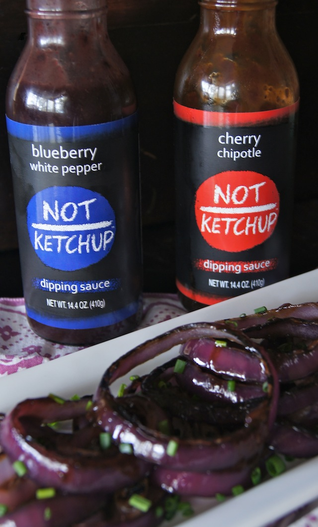 Not Ketchup bottles