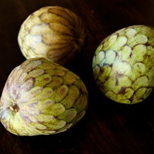 How to eat a Cherimoya: A Photographic Guide