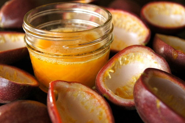 How to Cut, Eat, and Use Passion Fruit: A Photographic Guide | CookingOnTheWeekends.com