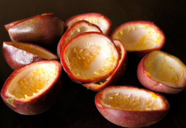 How to Cut, Eat, and Juice Passion Fruit - passion fruit skins