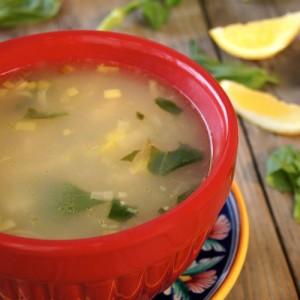 Kotosoupa Recipe {Greek Chicken-Lemon Soup}