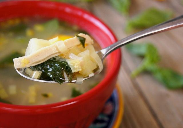 Kotosoupa Greek Soup
