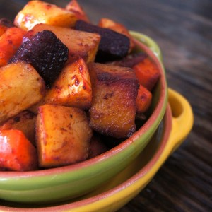 Smoky Cumin Roasted Root Vegetable Recipe