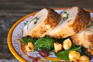 Smoky Hazelnut Crusted Chicken Roulade Recipe