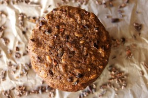 Chocolate, Oat and Espresso Breakfast Cookie Recipe | cookingontheweekends.com