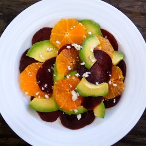 Avocado, Beet and Pixie Tangerine Salad Recipe
