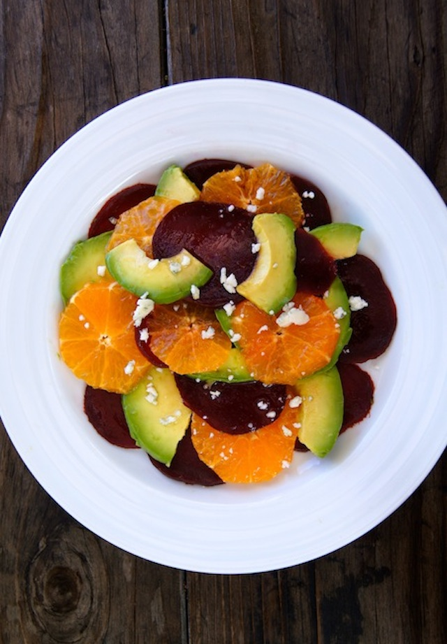 Avocado Beet & Pixie Tangerine Salad Recipe