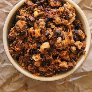 Hazelnut-Orange Granola Recipe