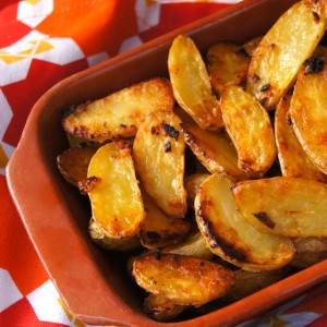 Garlic-Onion Crispy Fingerling Potato Recipe
