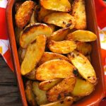 Garlic-Onion Crispy Potatoes Recipe