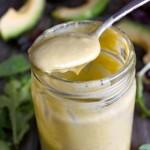 Creamy Avocado Lemon-Lime Salad Dressing Recipe