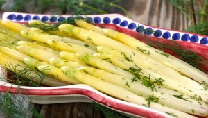 Tangy Lemon-Dill White Asparagus Recipe | Cooking On The Weekends