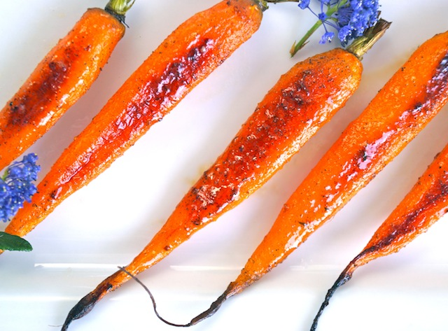 Cardamom Roasted Baby Carrots