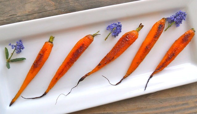Cardamom-Honey Roasted Baby Carrot Recipe | Cooking On The Weekends