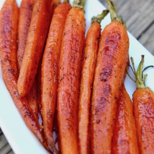 Cardamom Roasted Baby Carrot Recipe