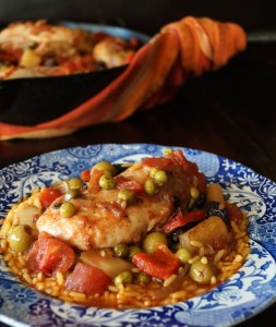 Cuban Chicken Stew Recipe with Alcaparrado