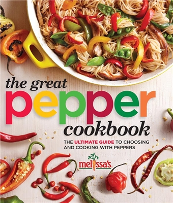 The Great Pepper Cookbook cover.