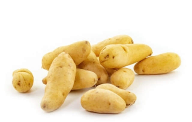 small pile on fingerling potatoes