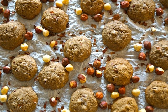"""don't worry about the """"ish."""" These cookies are full of hazelnut ..."""