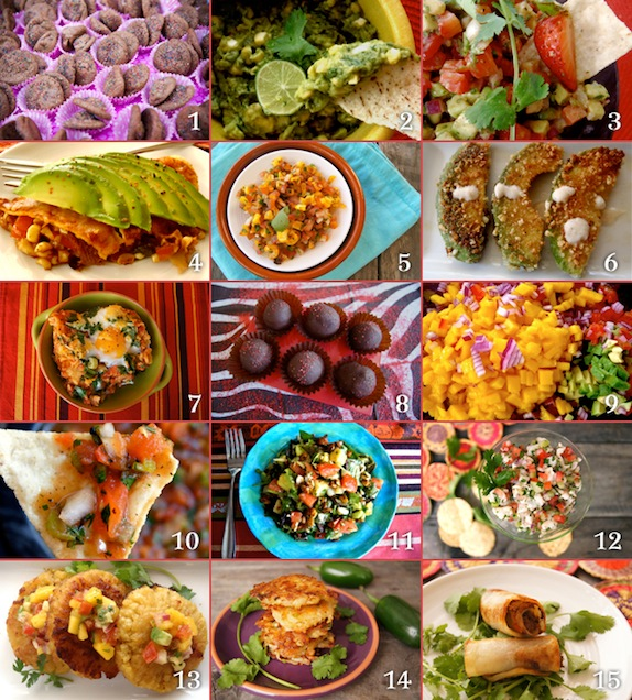 Photo gried of 15 Cinco de Mayo Recipes