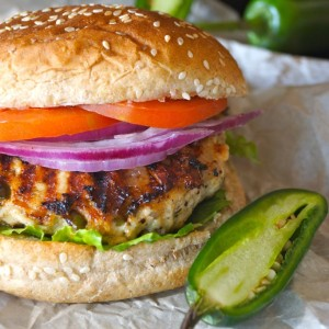 Grilled Jalapeño Pepper Jack Turkey Burger Recipe