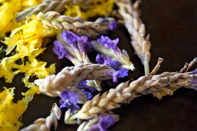 Lemon-Lavender Frozen Custard