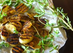 Herb-Grilled Elephant Garlic Recipe