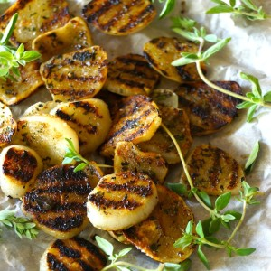 Herb-Grilled Elephant Garlic Recipe