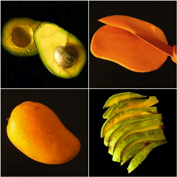 Seared Ahi Tuna Mango-Avocado Appetizer