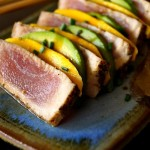Seared Ahi Tuna Avocado-Mango Appetizer Recipe