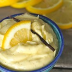 Whipped Lemon Vanilla Butter | cookingontheweekends.com