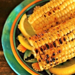 Fresh Lemon-Pepper Grilled Corn Recipe