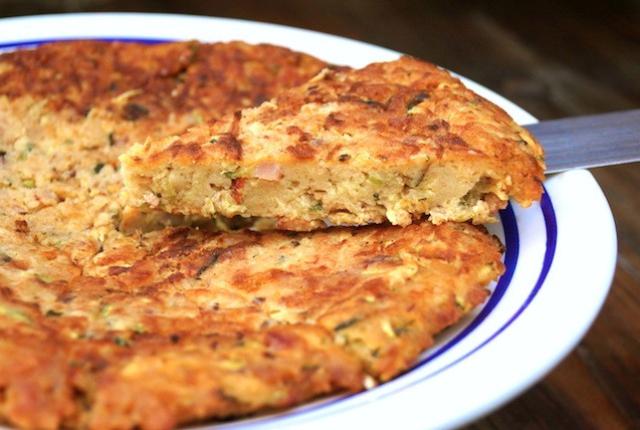 Chipotle Bacon Zucchini Cake Recipe | cookingontheweekends.com