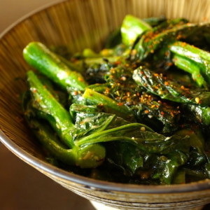 Garlicky Coconut Gai Lan Recipe