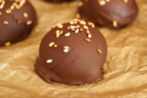 Chocolate-Sesame Truffle Recipe