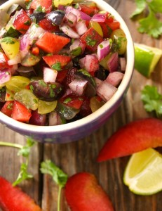 Grape-Plum Summer Salsa Recipe