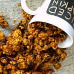 Spiced Pumpkin Double Roasted Granola Recipe