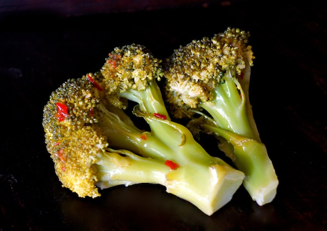 Spicy Quick Pickled Broccoli