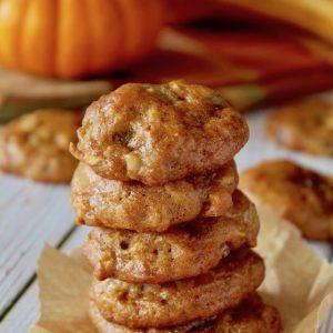 Healthy Gluten-Free Pumpkin Cookies