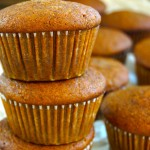Pumpkin Pie-Olive Oil Muffins or Cupcakes {Gluten-Free Recipe}