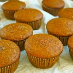 Pumpkin Pie-Olive Oil Muffins and Cupcakes (Gluten-Free Recipe) | cookingontheweekends.com