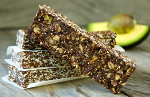 Chocolate Avocado Breakfast Bars for #OctoberUnprocessed