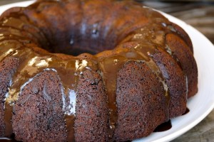 Gluten-Free Chocolate Olive Oil Bundt Cake | cookingontheweekends.com