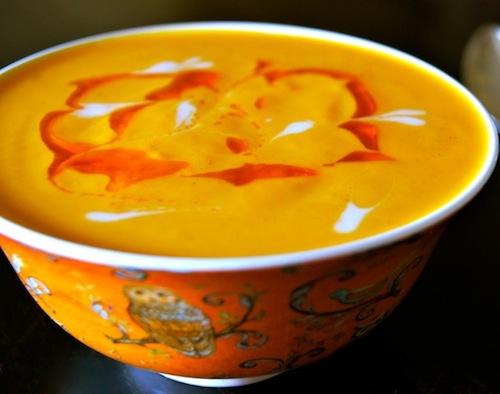 Vegan Coconut Spiced Carrot Soup