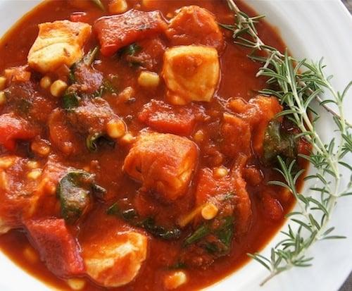 Lemony tomato caper marinated mahi mahi recipe weekend for Tomato fish stew