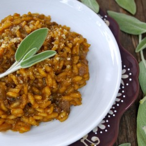 Smoky Chipotle Pumpkin-Sage Risotto Recipe