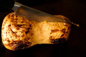 How to Roast Butternut Squash: A Photographic Guide - cookingontheweekends.com